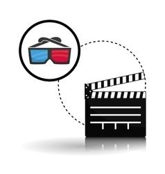 Movie design Cinema concept Film vector image