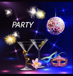 party celebration festive poster vector image