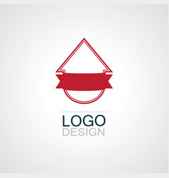 Pinned sell home business logo vector