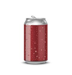Realistic aluminum cans vector