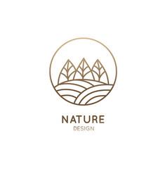 Sample landscape vector
