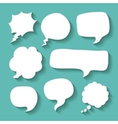Think text balloon design vector