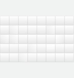 white ceramic bathroom tile seamless bath vector image