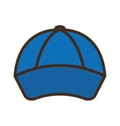 baseball cap isolated icon vector image