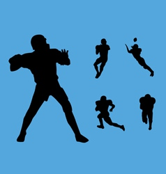 football collection vector image