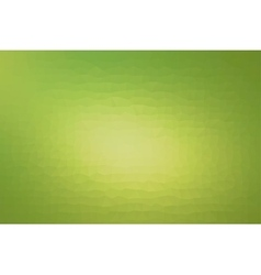 Abstract triangles pattern green background vector image