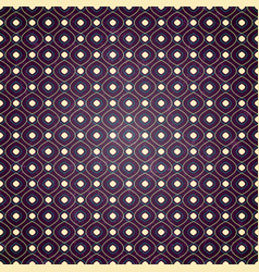 seamless geometric pattern on purple background vector image vector image
