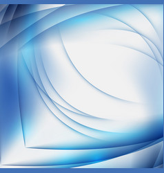 abstract blue background with geometric pattern vector image