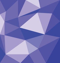 Abstract violet with polygonal pattern on the wall vector image