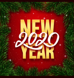 Happy new year 2020 background banner vector