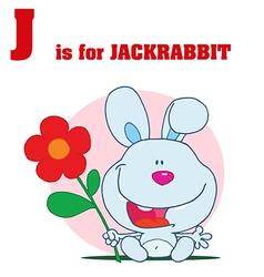 Jack rabbit cartoon vector
