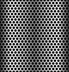 Seamless perforated metal backgrounds dimples vector