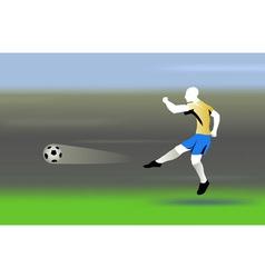 Shooting the ball vector