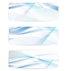 abstract background with waves and lines vector image vector image