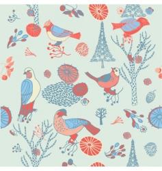 birds background vector image vector image