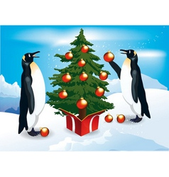 Funny Penguins vector image vector image