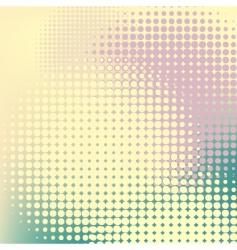 pastel halftones vector image vector image