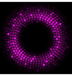 Purple lights - background vector image vector image