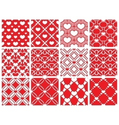 Seamless pattern collection vector image