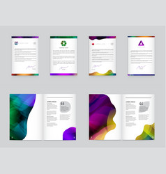 03 booklets src vector image