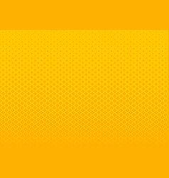 abstract gradient yellow squares pattern halftone vector image