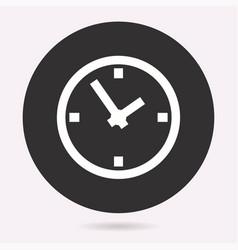 Circular clock symbol vector