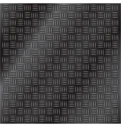 Dark metal tread plate vector
