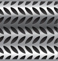 Diamond plate metal pattern texture seamlessly vector