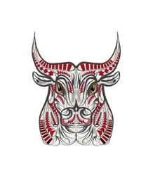 Ethnic bull vector