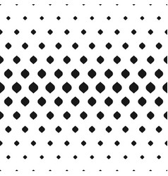 Geometric seamless pattern halftone effect vector