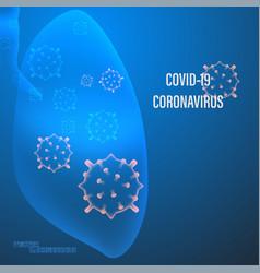 Lung human infection corona virus vector