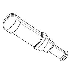 telescope vector image vector image