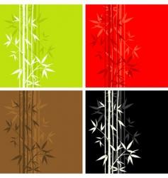 bamboo pattern seamless vector image