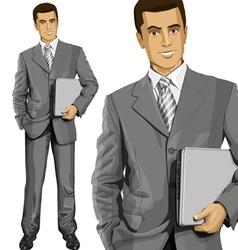 man vector image vector image