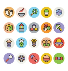 Baby Icons 6 vector