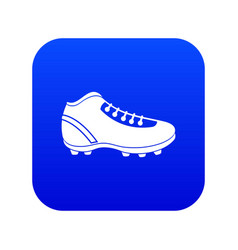 baseball cleat icon digital blue vector image