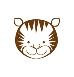 Figure tiger animal head expression vector