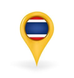 Location Thailand vector image