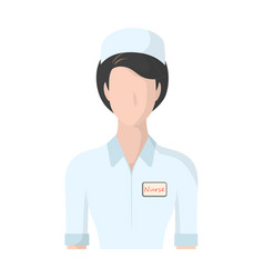 Medical staff in the hospital medicine single vector