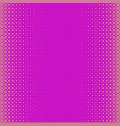 pink abstract halftone dot pattern background vector image