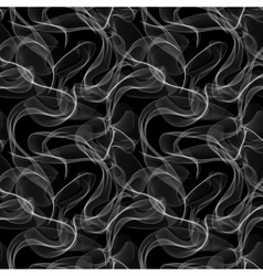 Smoke seamless pattern vector image