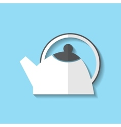 tea pot web icon vector image