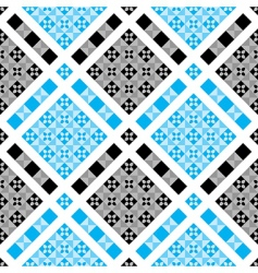 vector checked pattern vector image