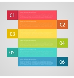 infographics options banner can be used for vector image