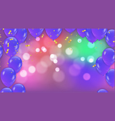 Abstract background with bokeh effect and vector