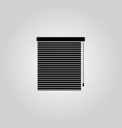 blinds icon interiors vector image