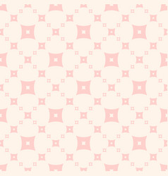 Cute seamless pattern subtle pink and beige vector