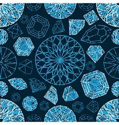 Diamonds seamless grunge 03 vector