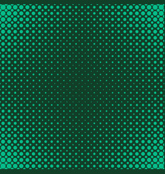 green geometric halftone dot pattern background vector image