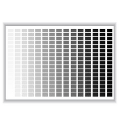 Grey colors palette color shade chart vector